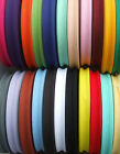 2 OR 3 METRES 25MM APPROX 1 INCH COTTON BIAS BINDING TAPE VARIOUS COLOURS