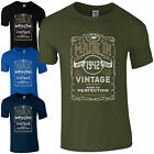 Made in 1942 T-Shirt Born 75th Year Birthday Age Present Vintage Funny Mens Gift