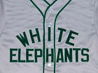 DENVER WHITE ELEPHANTS BUTTON-DOWN BASEBALL JERSEY NEGRO LEAGUE  SEWN ANY SIZE