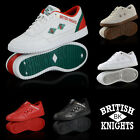 NEW AUTHENTIC BRITISH KNIGHTS QUILTS 5 COLORS LOW TOP SHOES