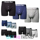 3 Pack Mens Cargo Bay Boxer Shorts 100% Cotton Button Fly Bottom Underwear Gym