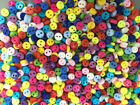 DIY 500pcs Mixed Colors Round Shape Resin Buttons lots 2 holes sewing 6mm Cards