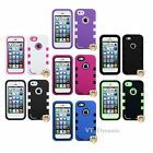 for iPhone 5 Premium TUFF eNUFF Hybrid Tough Soft Hard Case Cover 5G Accessory
