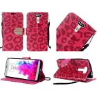 LG G5 Design Wallet Credit Card Stand Flip Cell Phone Case Cover Accessory