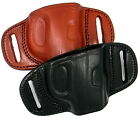 Leather QUICK DRAW Belt Slide Holster by Tagua For...Choose Gun and Color