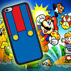 Mario Plumber Red iPhone 4 4s 5 5s 5c 6 6 Plus iPod Touch 5