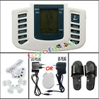 Electrical Stimulator Full Body Relax Massager Pulse Acupuncture Therapy Slipper