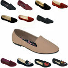 New Women Ballet Flats Shoes Casual Comfort Slip On Boat Loafers Shoes