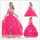 Flower Girl Dresses for Wedding Bridesmaids Prom BallGown Party Birthday Pageant
