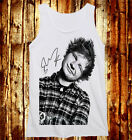 Edward Christopher Ed Sheeran The A Team Red Tour One Direction M/W Tank Vest