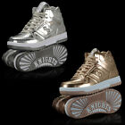 NEW AUTHENTIC BRITISH KNIGHTS DIRECTOR HIGH TOP SHOES GOL...