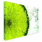 Fizzy Lime Canvas wall Art prints high quality great value