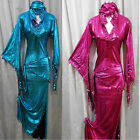 Egyptian Belly Dance Baladi Saidi Galabeya Dress Costume various colours
