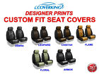 Coverking Designer Print Custom Fit Front Seat Covers for Nissan Titan