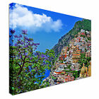 Positano Italy Landscape Canvas wall Art prints high quality great value