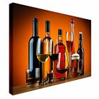 Various Wine Beer Drinks Canvas wall Art prints high quality great value