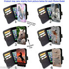 HD Horse Pony Lovers iPhone Samsung Phone cover WALLET Flip Case AC26