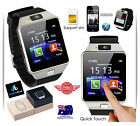 Smart Wrist Watch SIM Phone Mate Bluetooth Camera For iPhone Android HTC Samsung