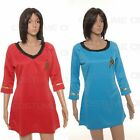 Star Trek Female Duty TOS Uniform Fancy Dress Halloween Costumes Cosplay on eBay