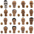 "Head play 1/6Head Sculpt Rare New For 12""Figure Will Smith Clive Owen Van Diesel"