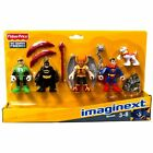 Fisher-Price Imaginext DC SUPER FRIENDS HEROES SET Batman Superman Hawkman NEW