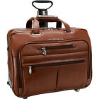 McKlein USA R Series Ohare Leather Wheeled Laptop Case Wheeled Business Case NEW