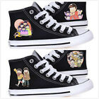 Mr.Osomatsu San Konya wa Saikou Lacing Up Cosplay Canvas Sneakers Shoes Black