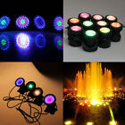 4pcs Underwater Lights Garden Fountain Fish Tank Pool Pond 36 LED Spotlight Lamp