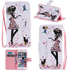 Magnetic Flip Wallet Card Holder Pattern Stand Case Cover For iPhone 6s/ 6 Plus