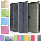 Luxury Slim Stand Wake Leather Smart Case Cover For iPad 23 4 Mini 12 3 Air 1 2