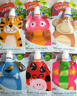 WATER  BUDDY DRINK BOTTLE REUSEABLE FOLDABLE 290ML ANIMAL PAL WITH HITCH