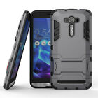 Shockproof Armor TPU + PC Case Stand For ASUS ZenFone 2 Laser ZE601KL ZE550KL