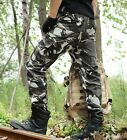 Men Outdoor camo pants Army Spring autumn trousers relaxed leisure long pants