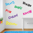 Batman Wall Stickers Decals Whamm Crash Oofft Pow Bang Crash Splatt Batman A352