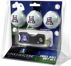 Spring Action Divot Tool 3 Ball Golf Gift Pack - Various Teams