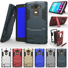 Hybrid Rugged Shockproof Armor Hard Case Protective Cover Clip Holster For LG G5