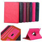 Leather Case Card Slot Stand Cover For Apple iPad 2/3/4/Air/Air2/mini 1234 Pro