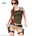 Twin Guns Thigh Holster Belt - Lara Croft Style Tomb Raider Fancy Dress Wig Guns