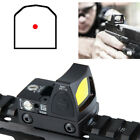Tactical Reflex Adjustable Ultra Mini Red Dot Sight Scope for Airsoft Hunting