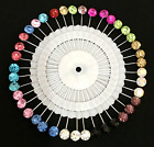 20/30/40/200Pc Women Cap Hijab Scarf Pins Muslim Scarves Shayla Shawl Pin Lot