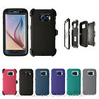 Defender Case for Samsung Galaxy S7 / S7 edge w/Belt Clip & Screen Protector