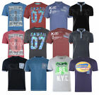 Mens BIG SIZE Fashion T- Shirt Polo Short Sleeve Casual 100% Cotton Summer 2-8XL