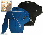 NWT $250 Versace Collection Versace V-Neck Double Layer Neckline Sweater Size L