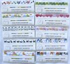 One Point Marker Set of Tabs / Markers (Your Choice of Design)~KAWAII!