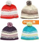 Regatta Kaja Womens Knit Fleece Lined Warm Winter Ski Beanie Hat RWC038