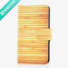 Hot New Wood Pattern PU Leather Flip Case Cover For Sony #04