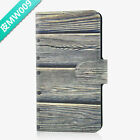 Hot Colorful Wood Design PU Leather Flip Case Cover For LG Google #09