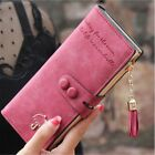 Lady Women's Leather Clutch Wallet Purse Long Card Holder Handbag Case US Stock image