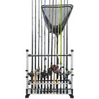 KastKing Rack 'em up Fishing Rods Holder -12 Rod Rack for Freshwater, 24 for all