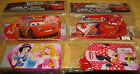 DISNEY LUGGAGE TAGS ~ MINNIE MOUSE, LIGHTNING MCQUEEN, DISNEY PRINCESS